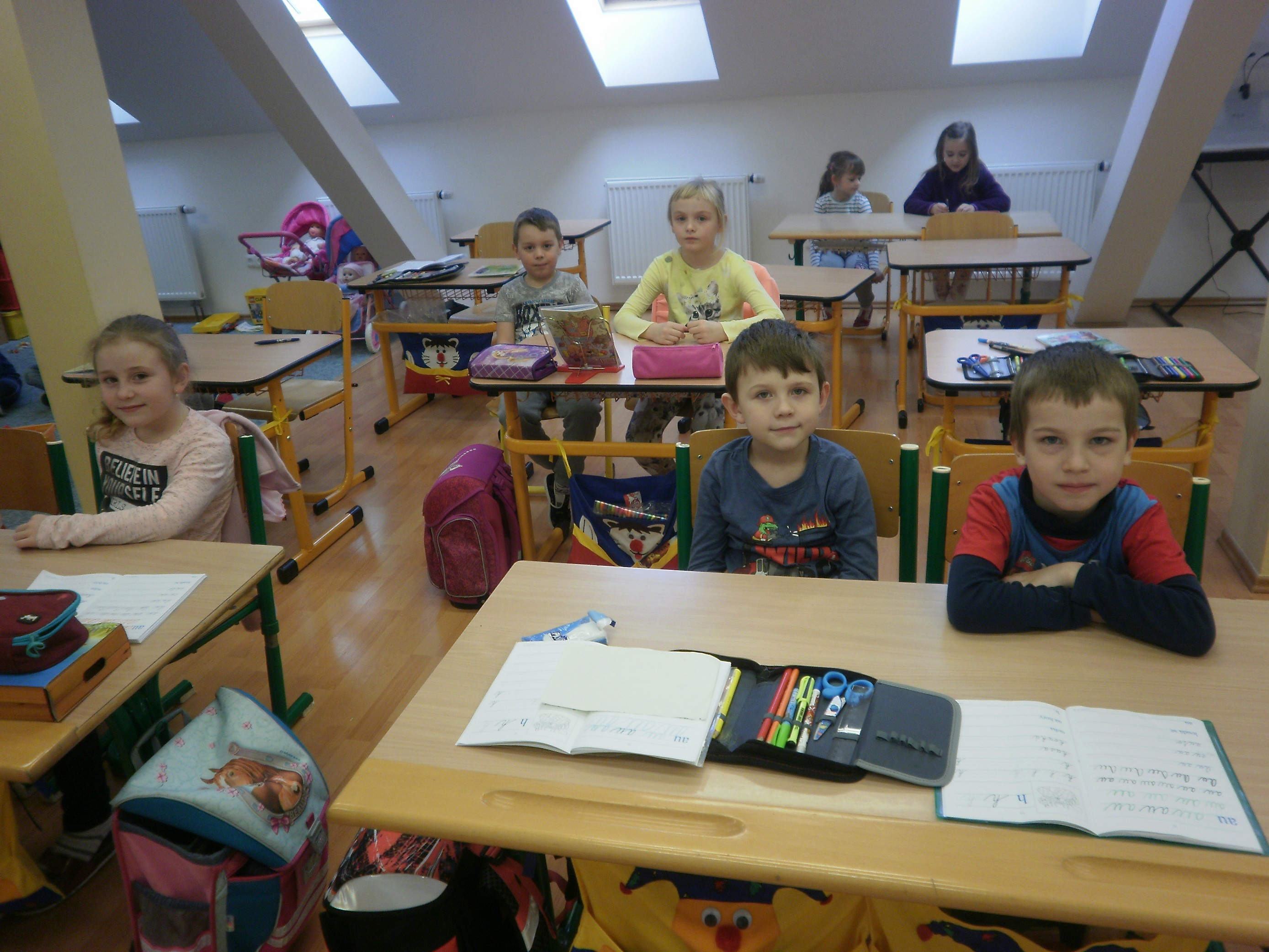 Návštěva 1. třídy ZŠ